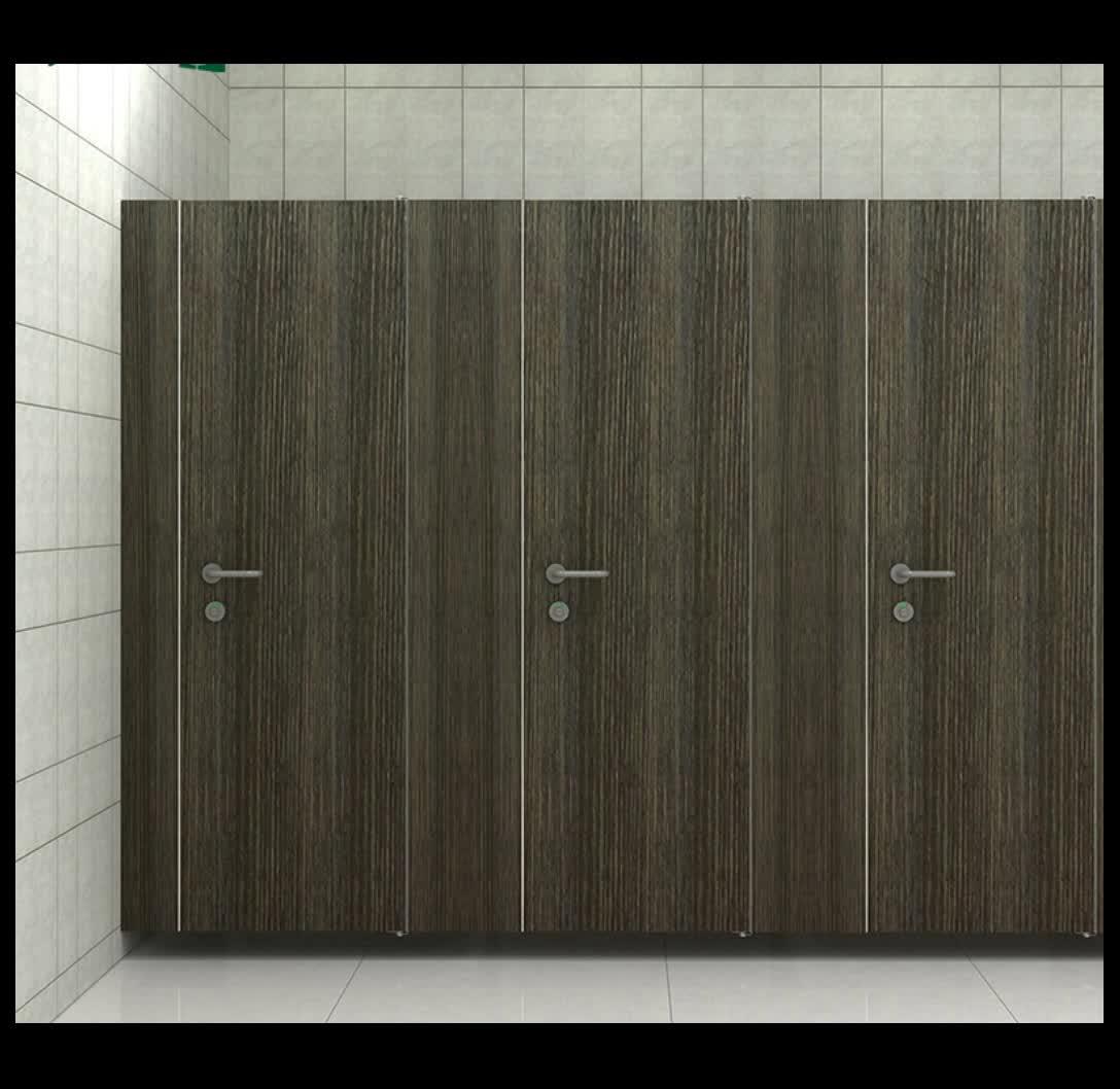 Favo de mel painéis HPL à prova d' água do banheiro partição cubículos