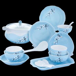 【品质优选】景德镇陶瓷日式餐具碗碟套装