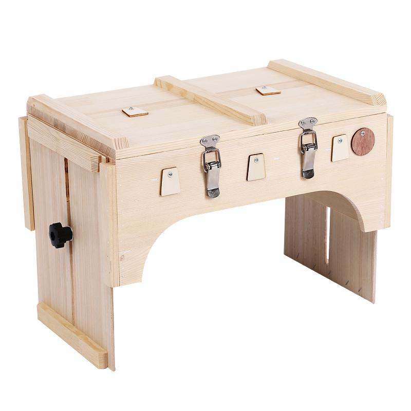 多部位木制艾灸箱全身艾灸盒大号家用八髎穴宫寒去湿气妇科多功能