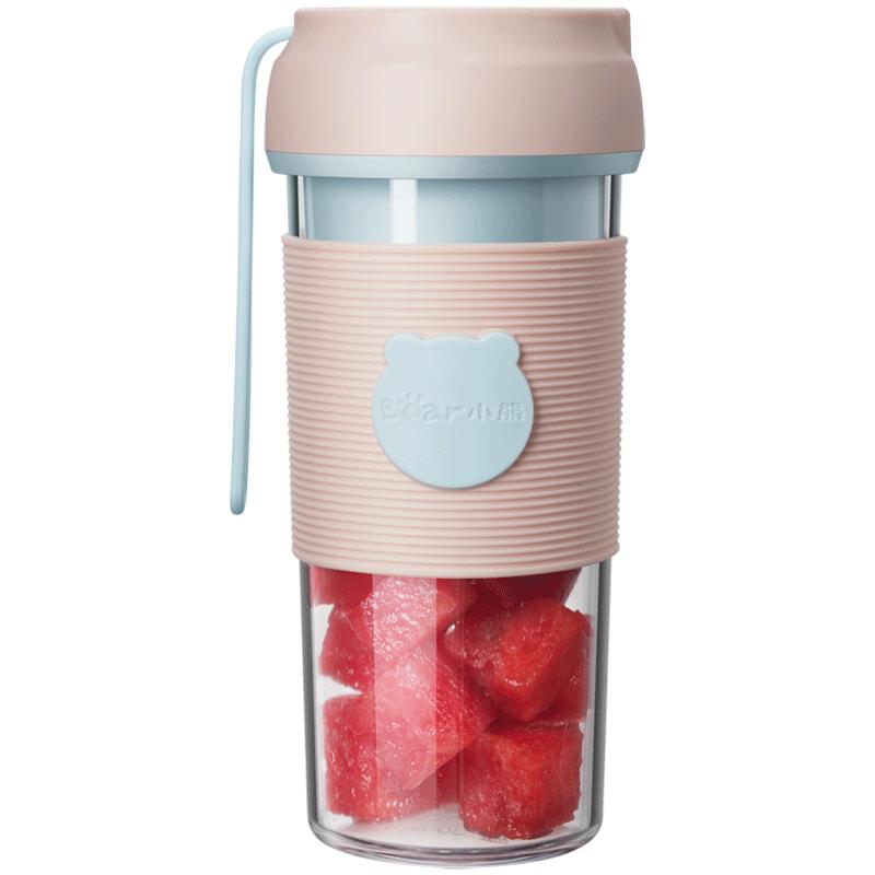 小熊榨汁杯小型电动便携式多功能家用迷你炸水果汁榨汁学生料理机