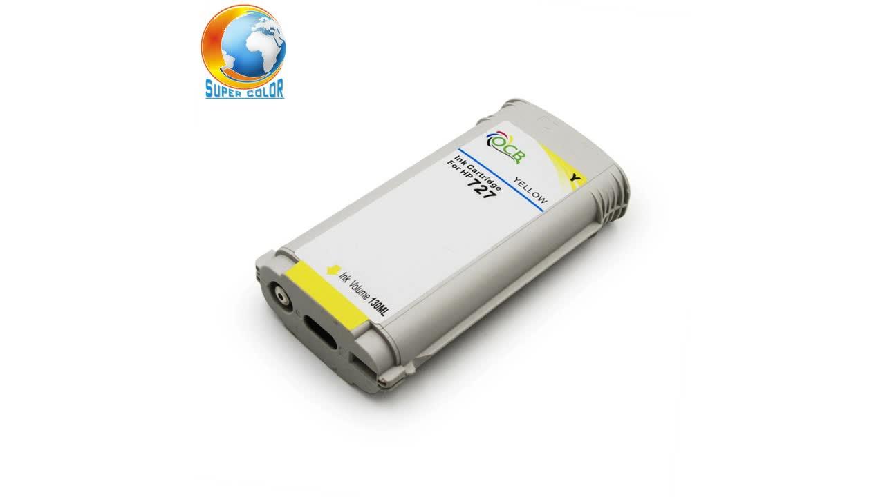 727 cartucho de tinta para impressora HP T920 T1500 T2500