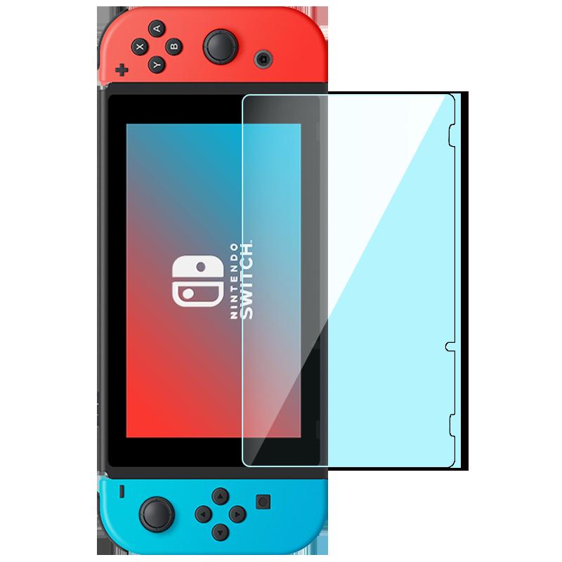 闪魔 任天堂Nintendo Switch钢化膜全屏覆盖NS高清抗蓝光Switch防指纹防爆ns保护贴膜全身游戏机膜配件痛机贴