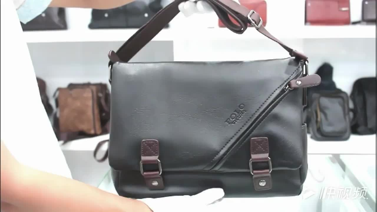 VICUNA POLO 2019 Hot Selling Product Fashion Classic Black Satchel Shoulder Bag