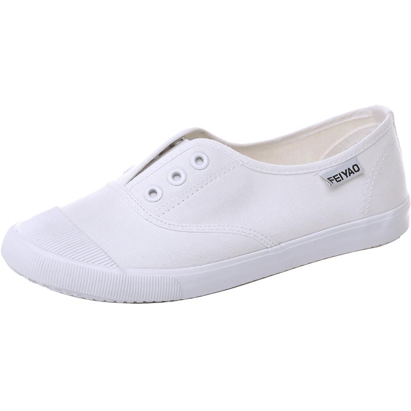 飞耀帆布鞋夏季低帮帆布鞋