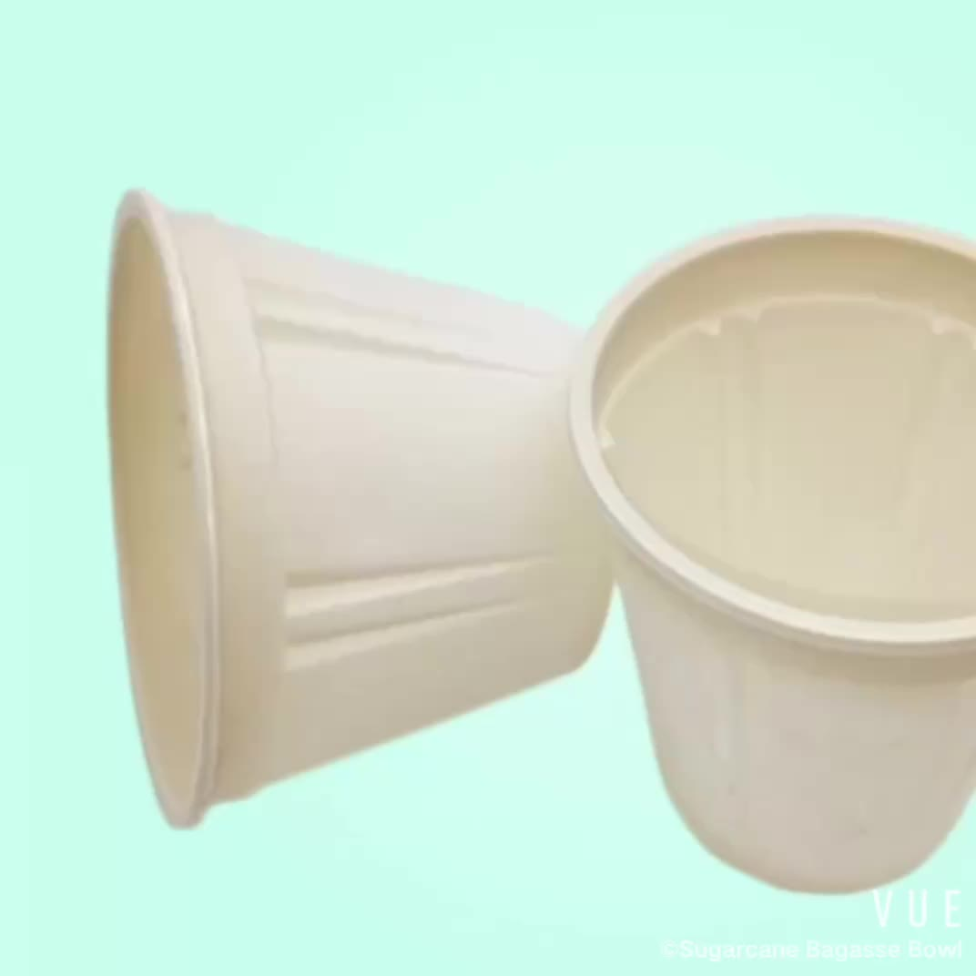 Chinese Supplier Biodegradable 14oz Eco Disposable Corn Starch Ice Cream Bowl
