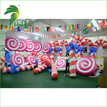 high quality customized pvc inflatable lollipop candy toy lowes outdoor christmas blow up decorations