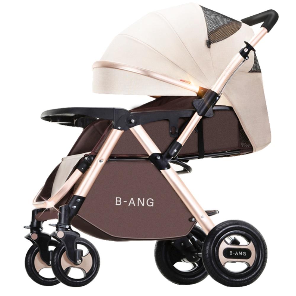 奔昂高景观可坐可躺轻便折叠婴儿车质量怎么样