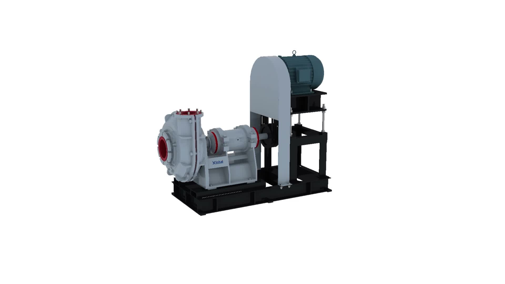 Long Working Life XPA Centrifugal Slurry Pump / Gold Mining High Pressure Slurry Pumping Equipment