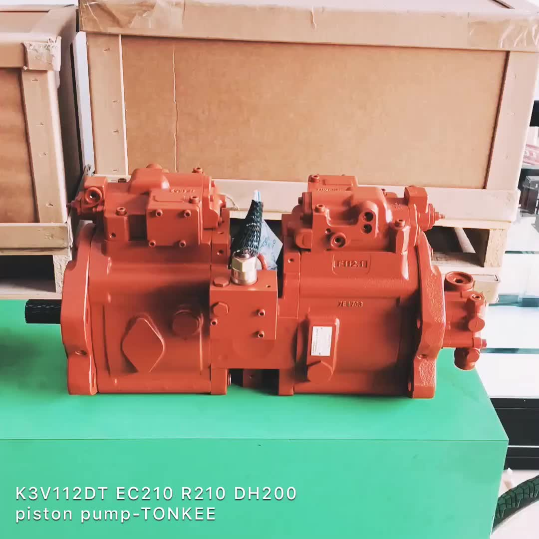 R210 Hydraulic Pump,K3V112DT Main Hydraulic Pump