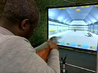 Interactive TV Laser Wholesale Hunting Play Simulation Vr Target Machine Games Arcade Gun Shooting