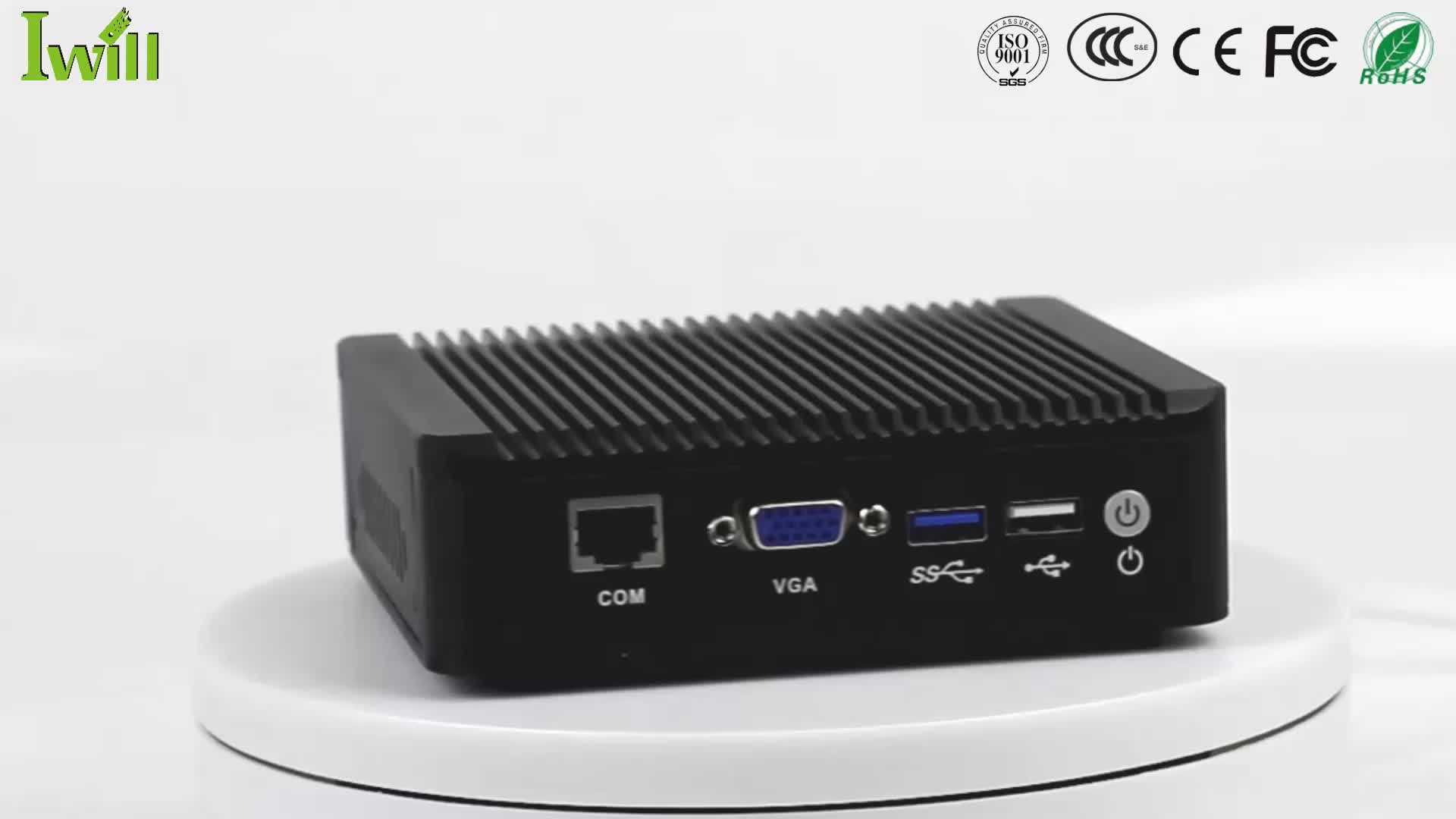 pfSense Firewall Barebone 4 Ethernet Ports Mini PC Router