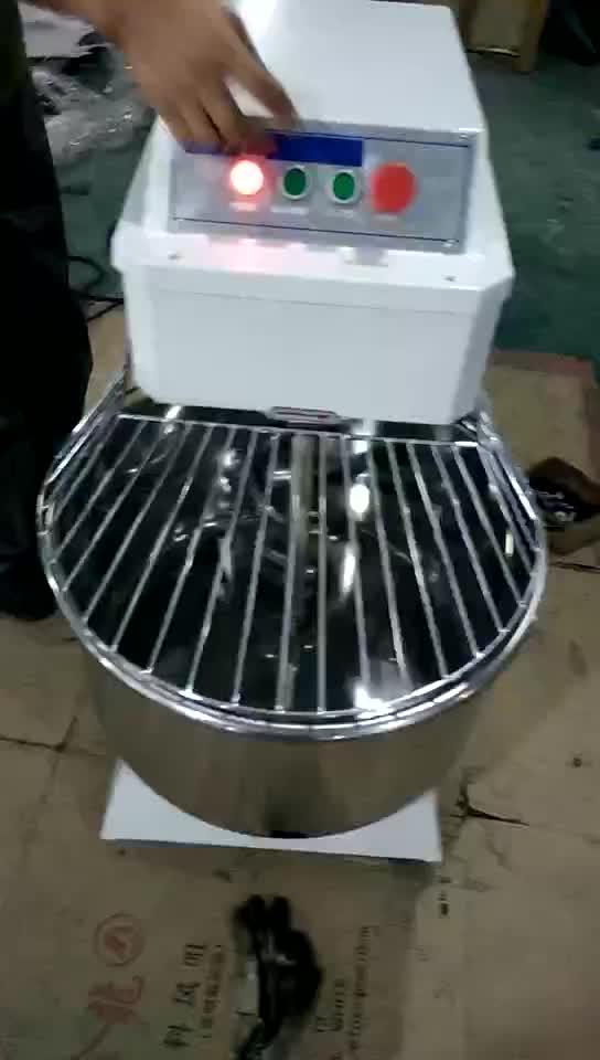 20L 30L 40L 50Lเบเกอรี่ในเชิงพาณิชย์เครื่องแป้งผสมขนมปังผสมแป้งไฟฟ้า