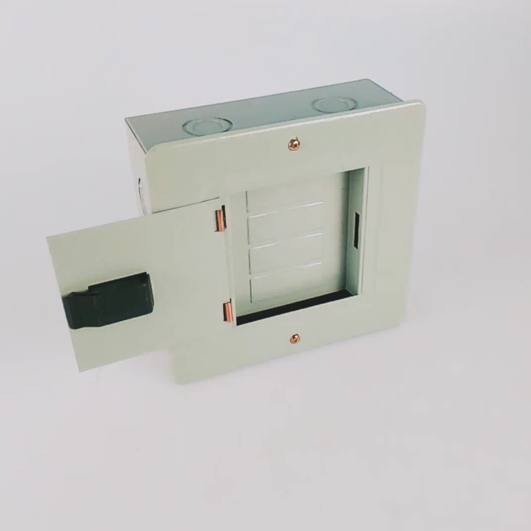 100a 8 Way Single Phase Residential Panel Box Electrical Panel ...