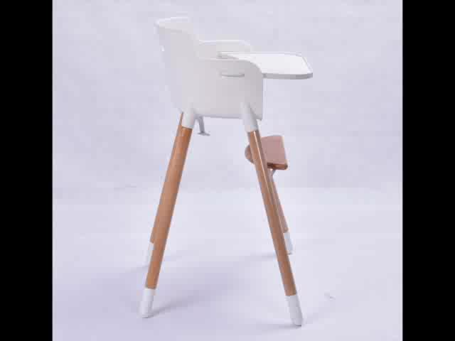 Baby New Products 2019 3 in 1 Baby High Chair with Table