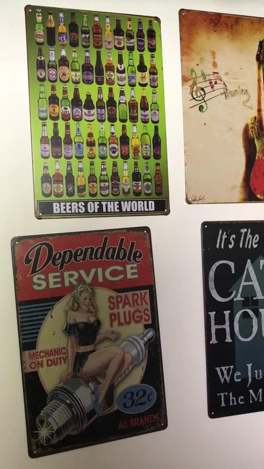 Ao Álcool Duff Simpsons Pintura Bar Pub Cafe sinal da lata do metal Do Vintage Arte Da Garagem Do Hotel Casa Decoração Da Parede do Metal Poster