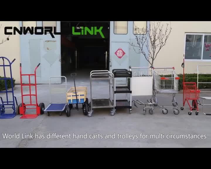 250kg Stainless Steel Carry Easily 3 Wheels Airport Trolley