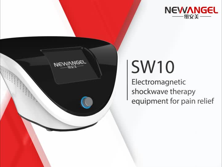 Portable extracorporeal shock wave therapy equipment for pain