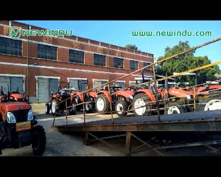 China Famous Brand Farm Machinery 4WD Agriculture Tractors LT354