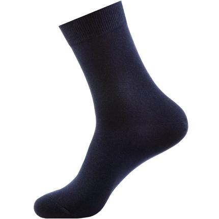 南极人纯棉袜夏季穿西裤长筒袜子