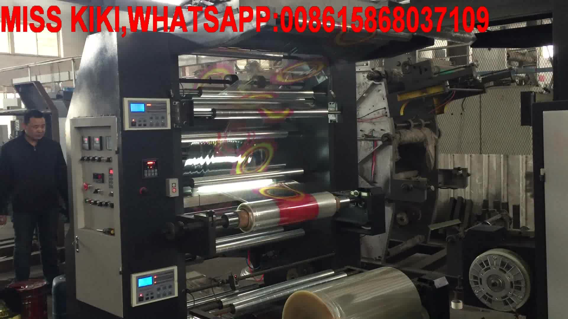 Best sale two color flexographic printing machine