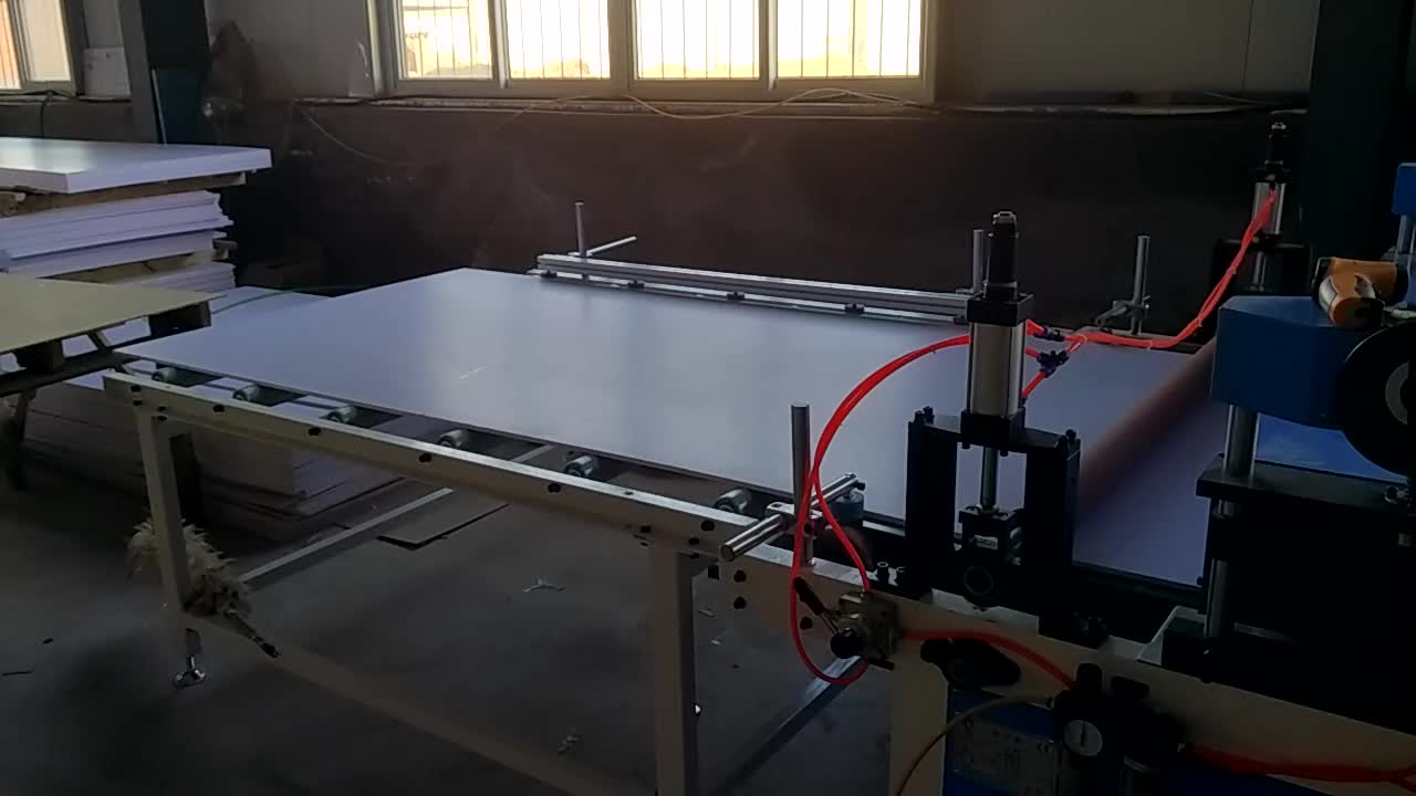 Offline Hot Stamping Machine For Plastic PVC Foam Board
