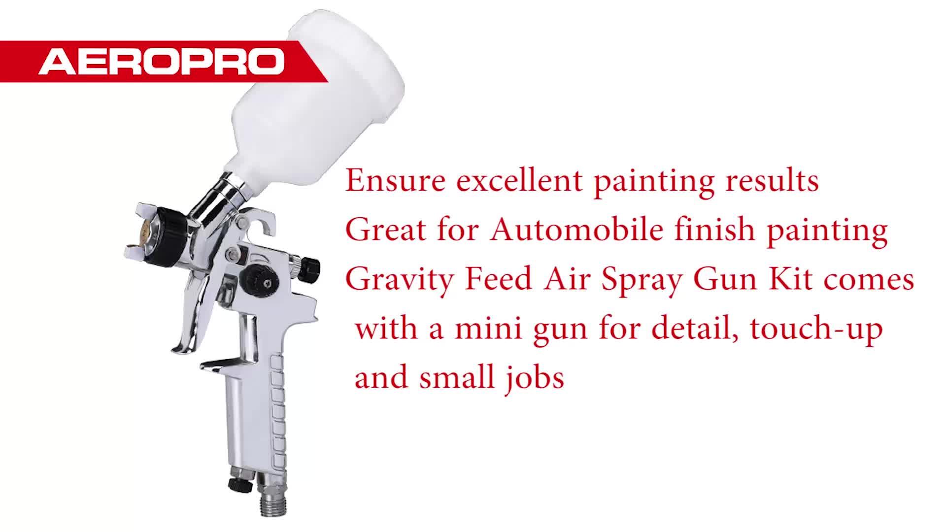 AEROPRO A602 Air Touch Up Gtavity пистолет-распылитель