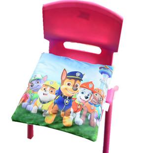 订做小学生幼儿园电动车座宝宝餐椅子可拆洗坐垫卡通凳子垫专用