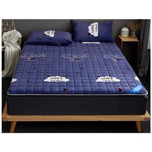 南极人宝宝绒防滑可水洗软垫单床垫