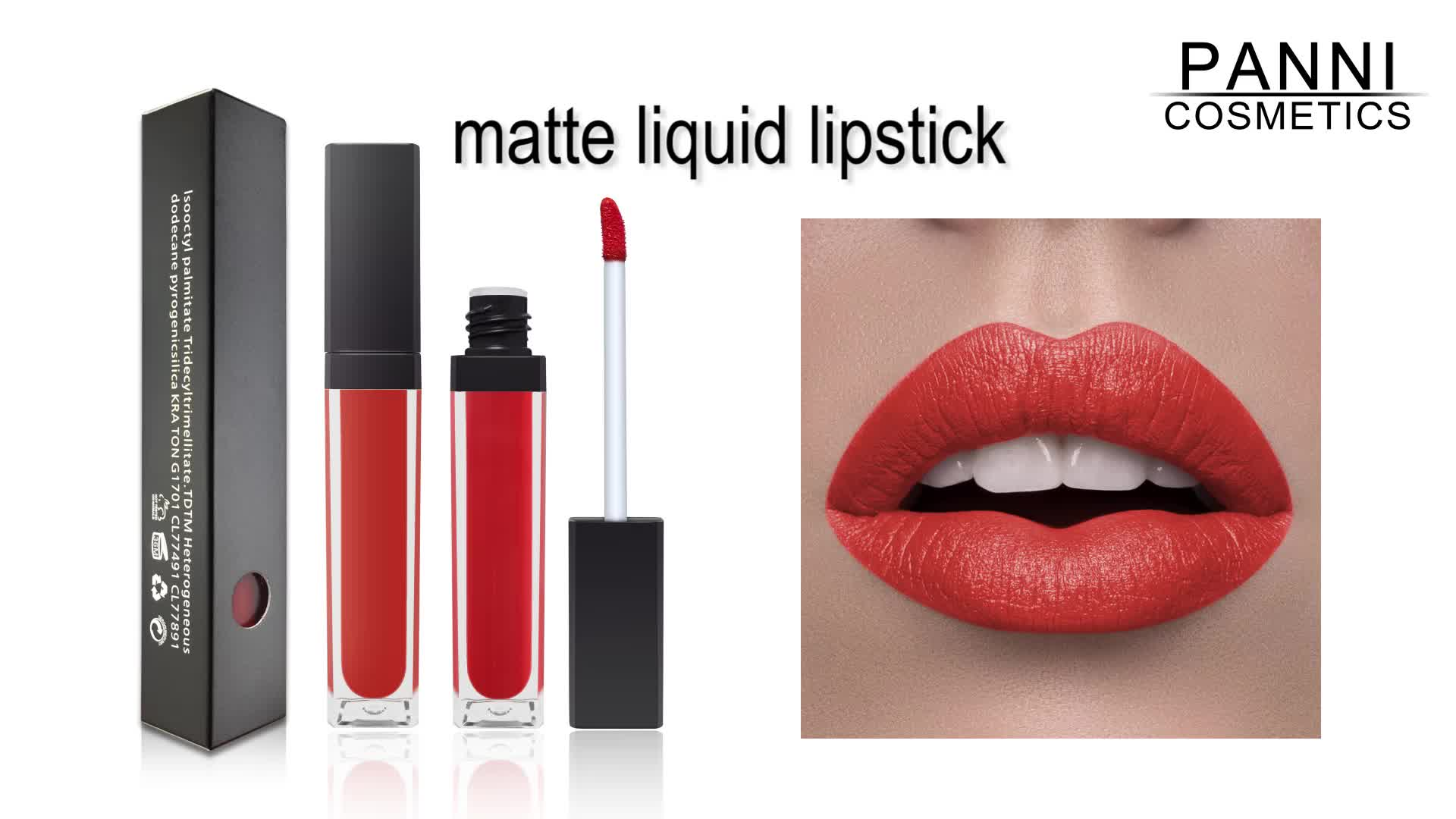 hot make your own Lipstick Matte Private Label Liquid Lipgloss Matte Lipgloss