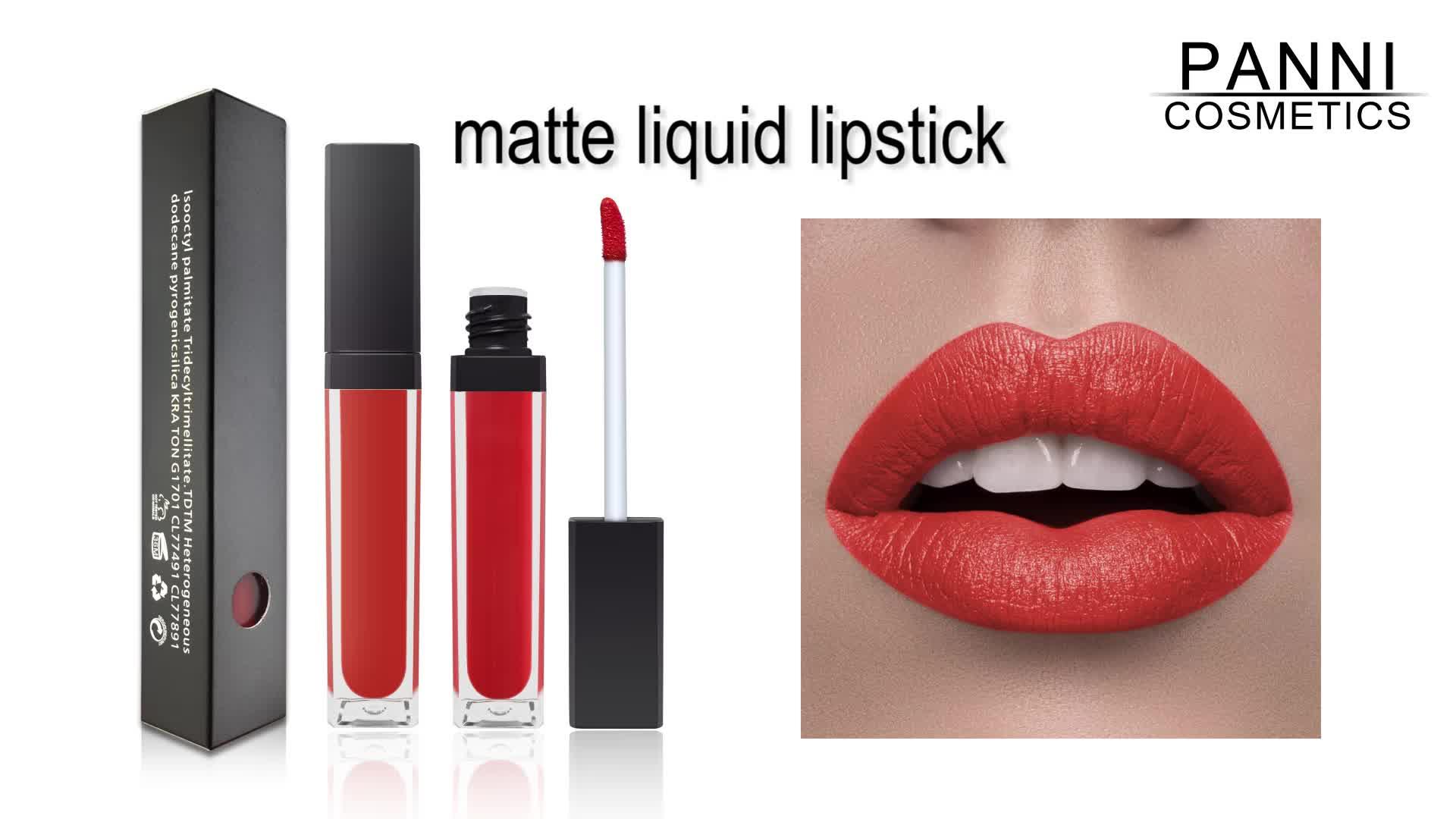 Private label matte lipstick brand manufacturers