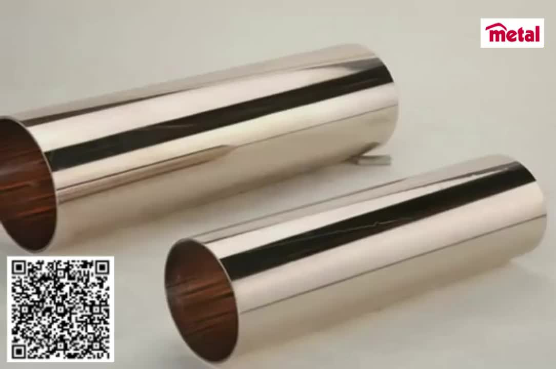 Copper nickel tube cu ni 90 10 c70600 sch40 seamless for Copper pipe cost