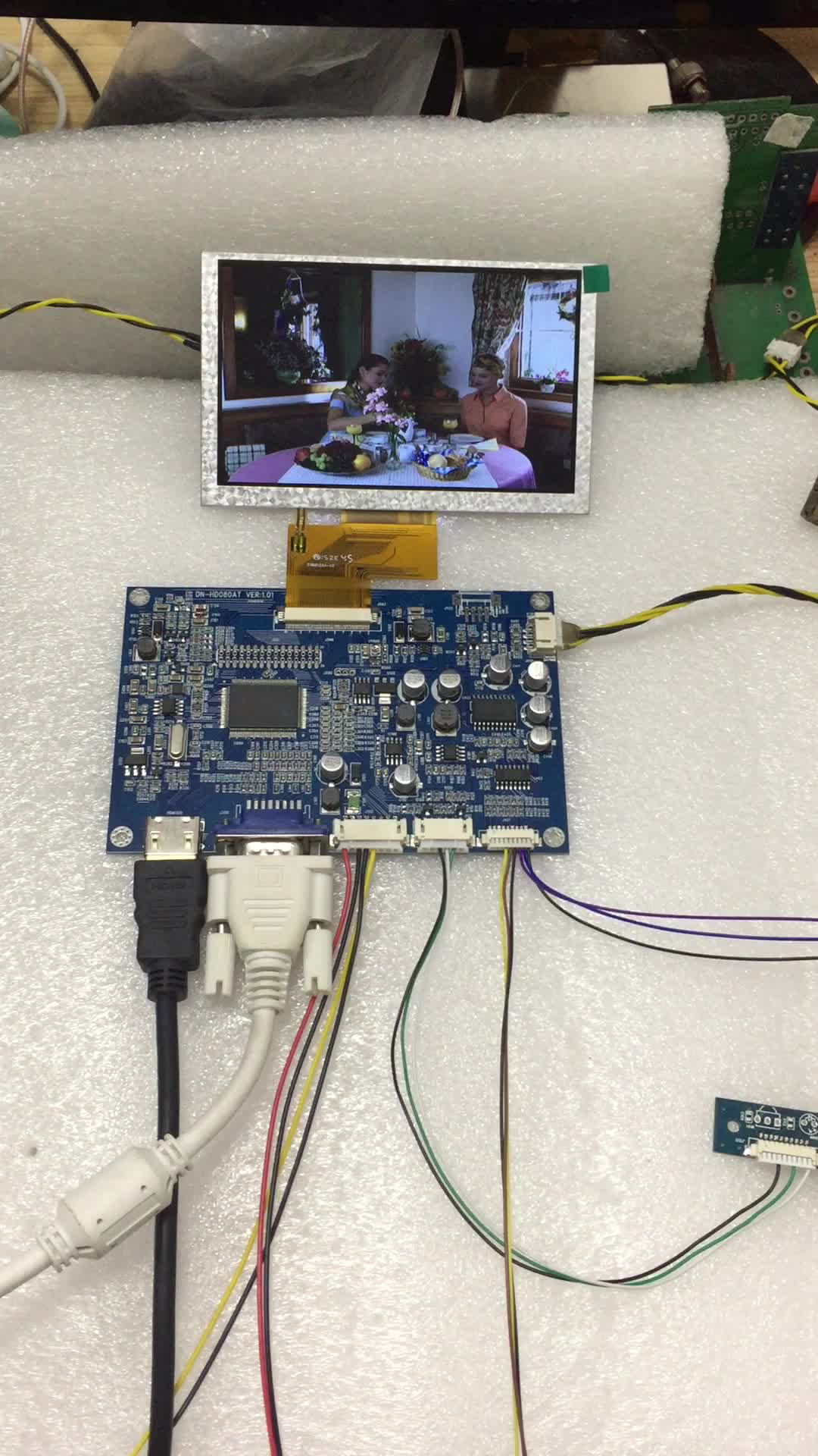 HDMI LCD controller board with 40 pin and 50 pin TTL interface