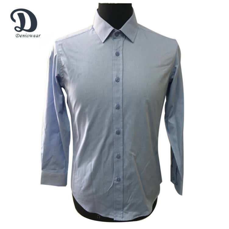 White twill long sleeve shirt pattern for men buy shirt for Long sleeve shirt pattern