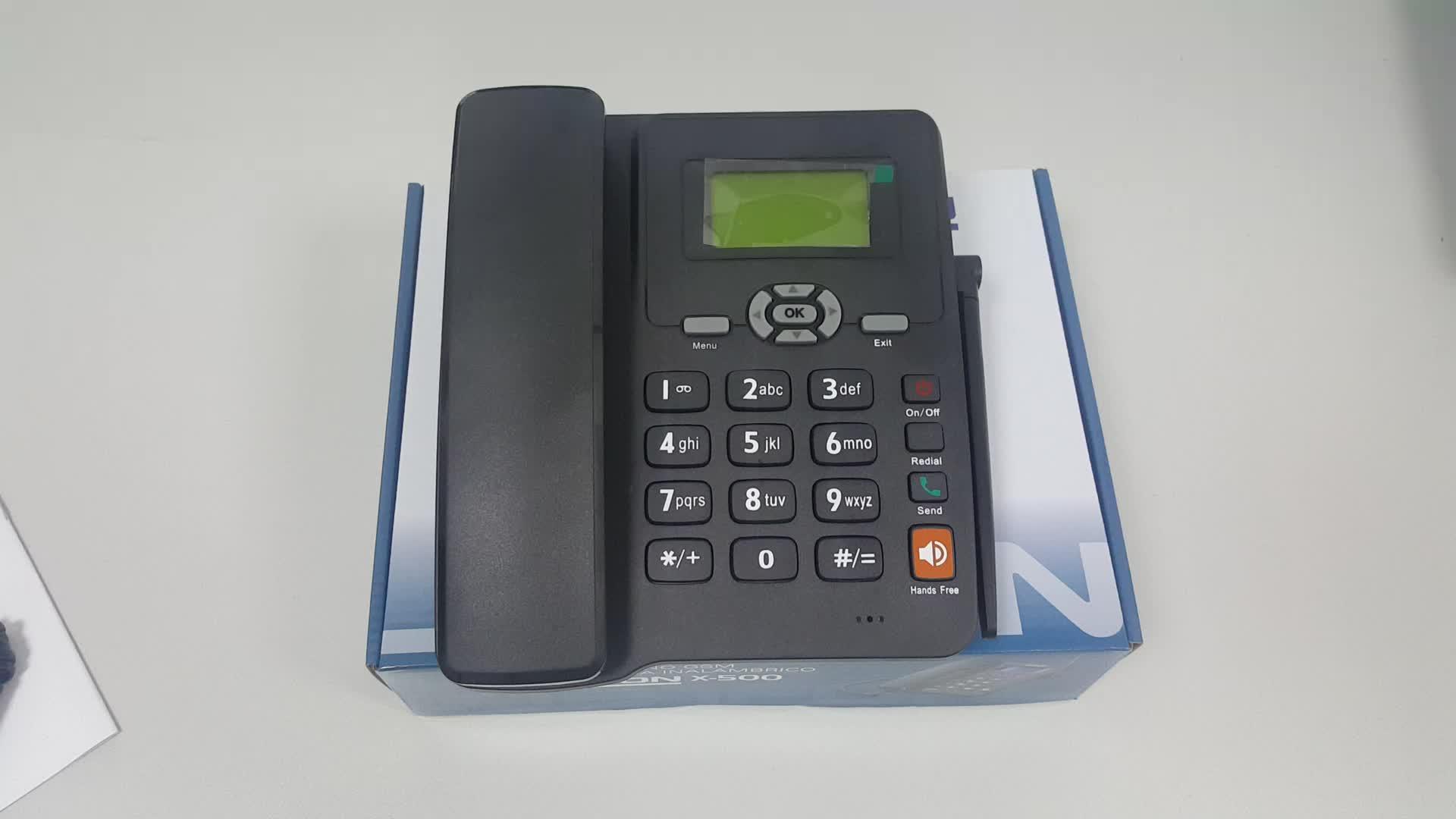 قفل دبوس أو شبكة GSM FWP (هاتف لاسلكي ثابت) ، هاتف منزلي سطح المكتب