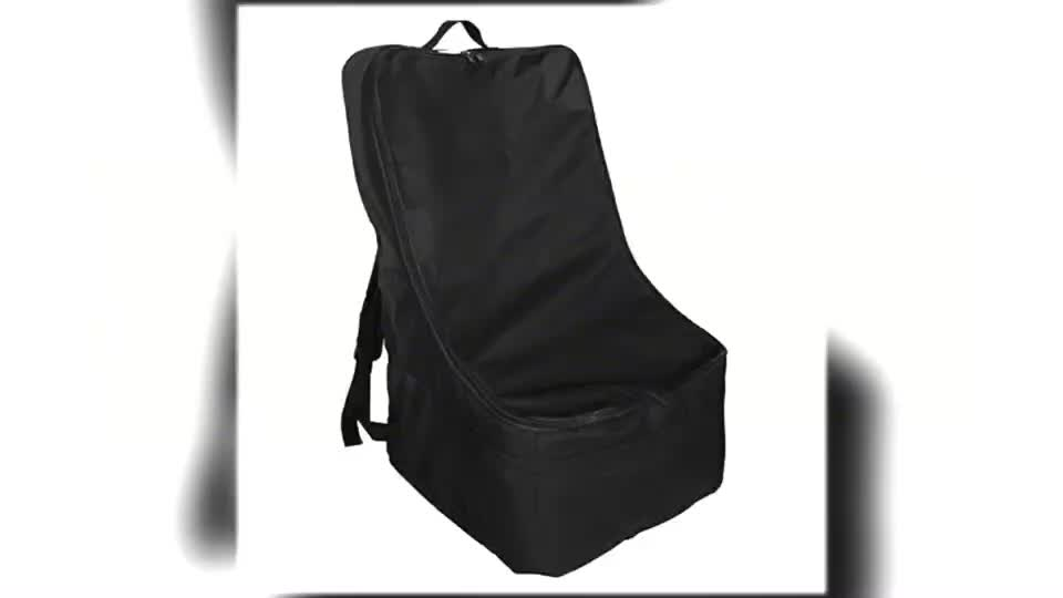 New Design Ultimate Baby Backpack Padded Car Seat Travel Bag for Airplanes
