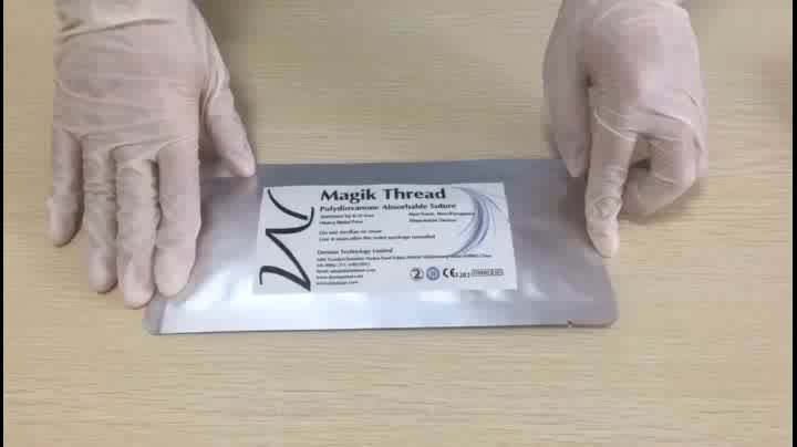 Wholesale disposable surgical suture with needle absorbable pdo thread lift korea