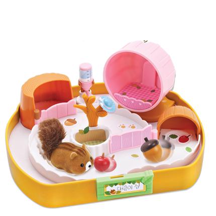 韩国mimiworld欢唱仓鼠屋拉比玩具