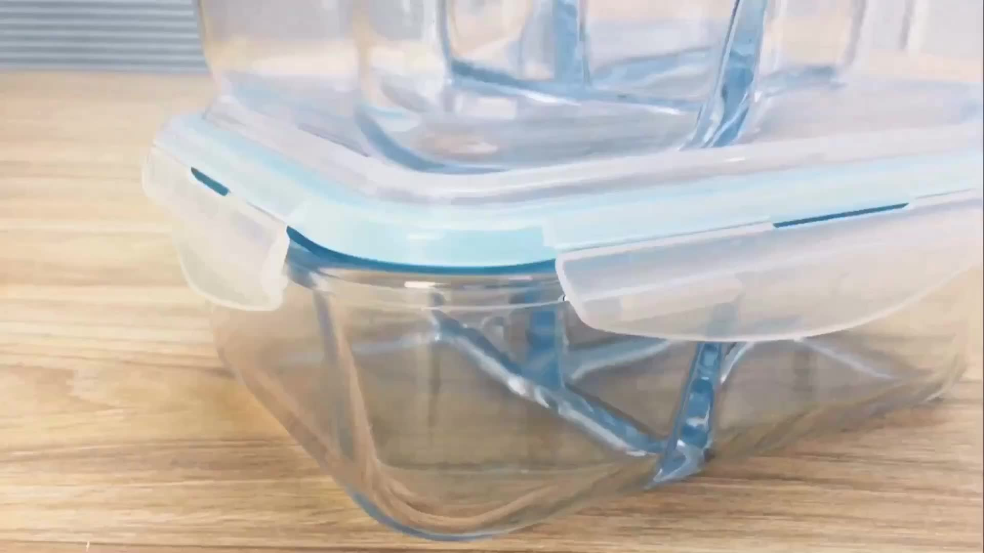 air tight leak proof freezer using glass lunch box for kids