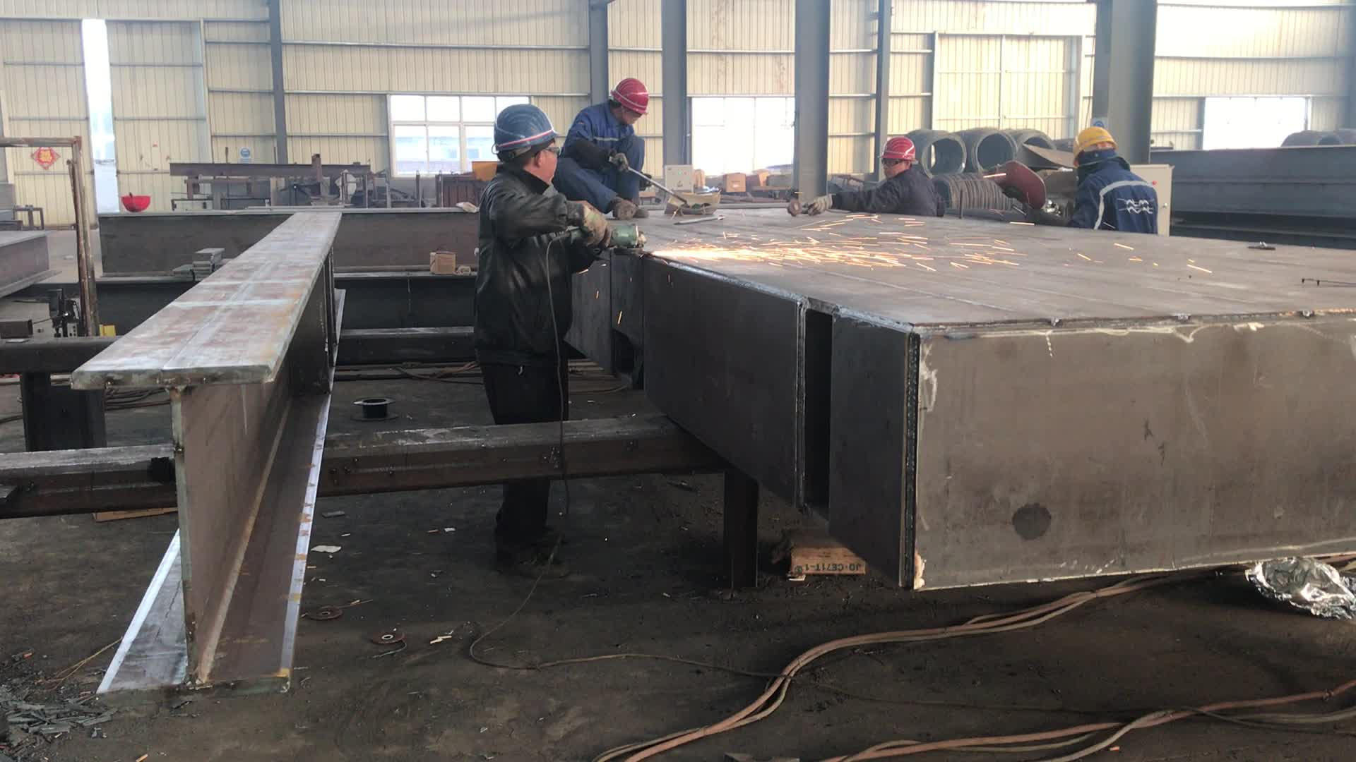Custom Welding Fabrication H Beam Frame Platform - Buy Welded ...