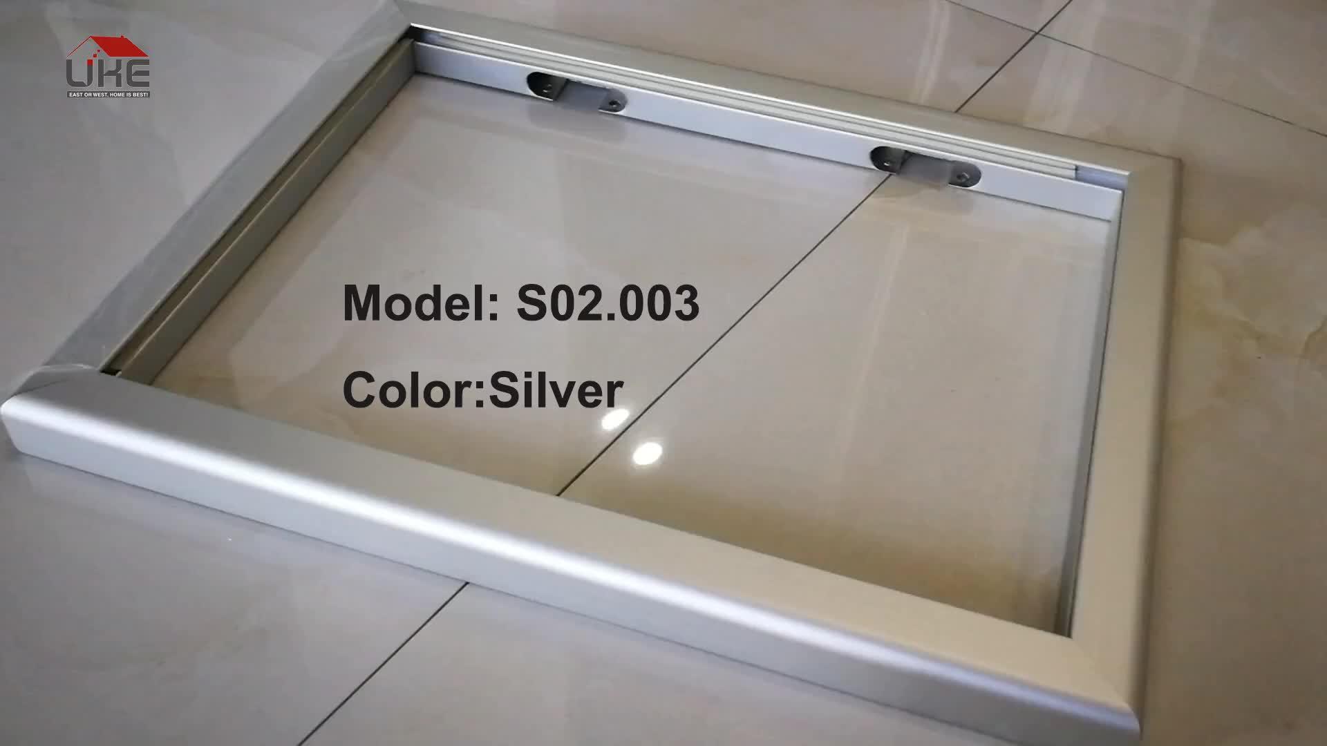 S02.03 Kanada Usa Beliebte Aluminium Rahmen Türen Küchenschrank ...