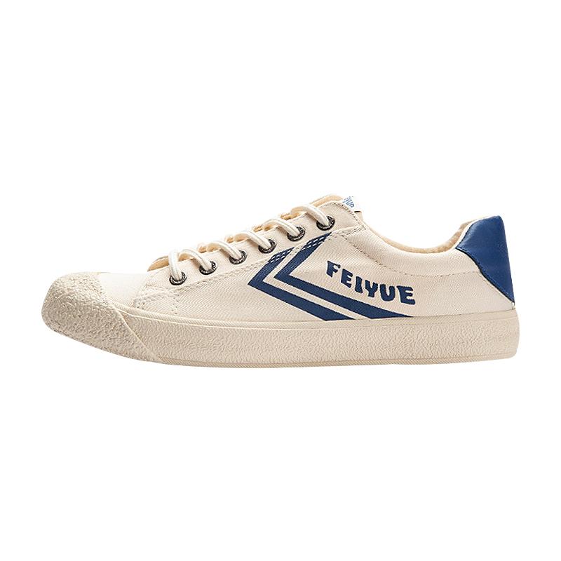 大孚feiyue飞跃帆布女男硫化复古日系米白原宿街头学生休闲板鞋