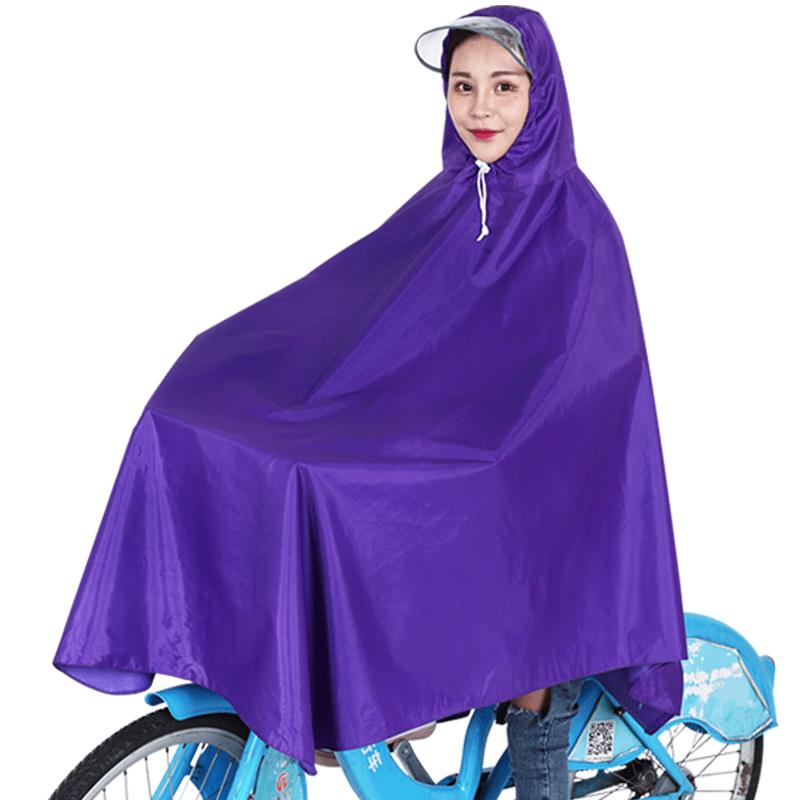 共享单车雨衣自行车男女通用加大