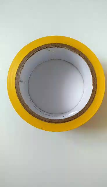 "HJ-1803001A Wholesales ESD Warning Tape printing ""Caution"""