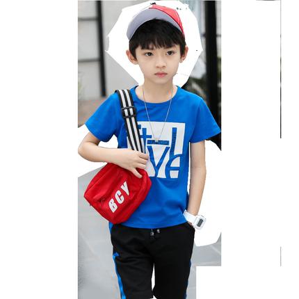 童装男童夏装2019新款儿童洋气韩版