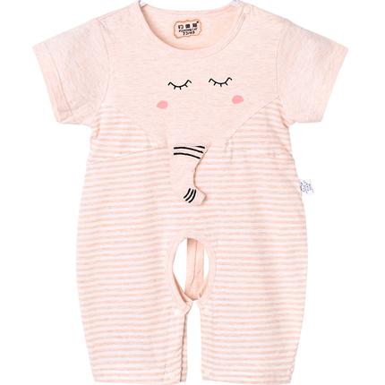 短袖3个月-1岁宝宝夏装婴幼儿哈衣