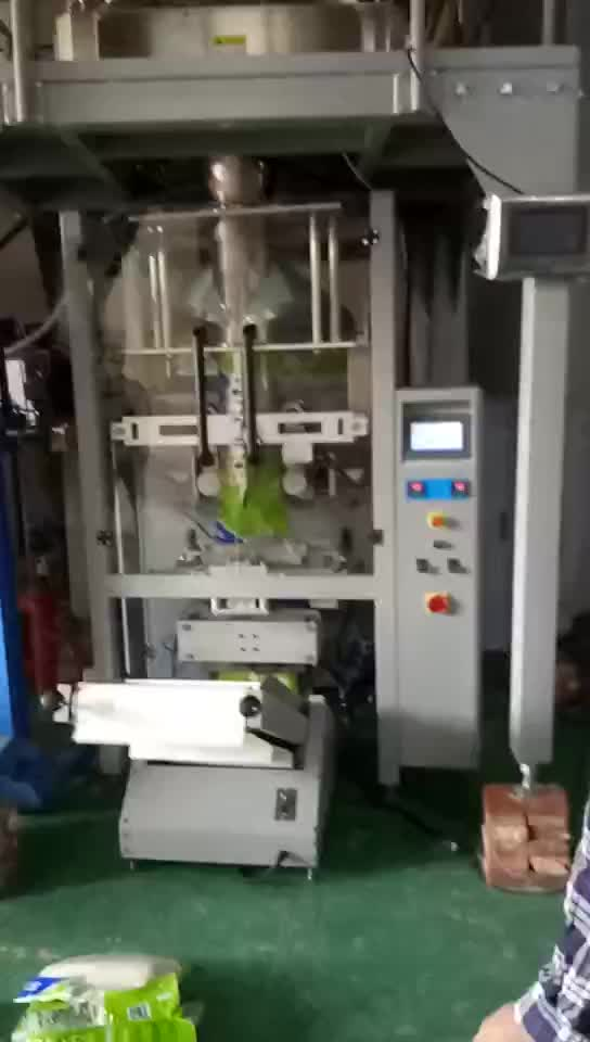 VFFS automatic vertical form fill seal  packaging machine packing noddle linguine pasta with laminated PE roll film