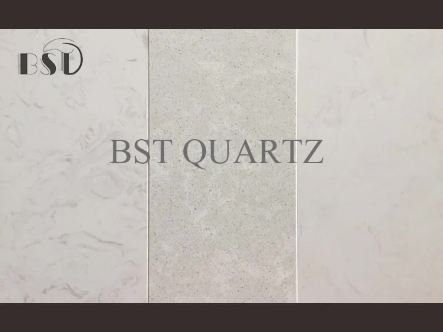 White Marble Like Quartz Engineering Stone