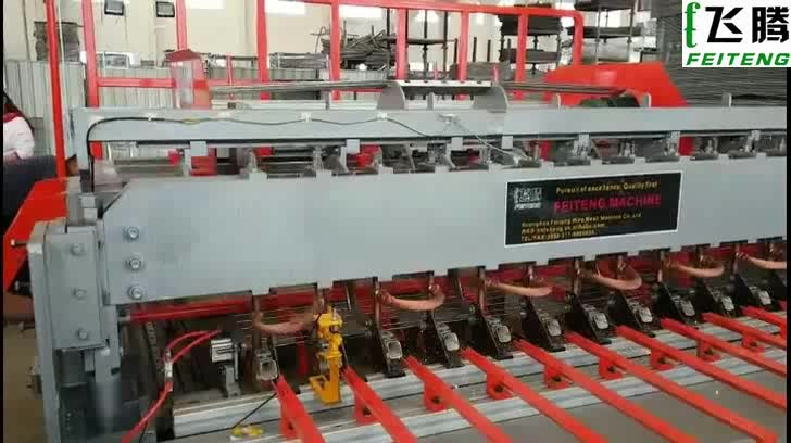 High Security Welded Wire Mesh Fence Production  Line