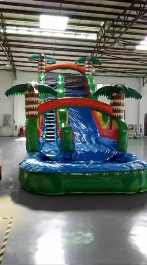 Günstigen preis PVC spiele tobogan inflable rutsche air für kinder