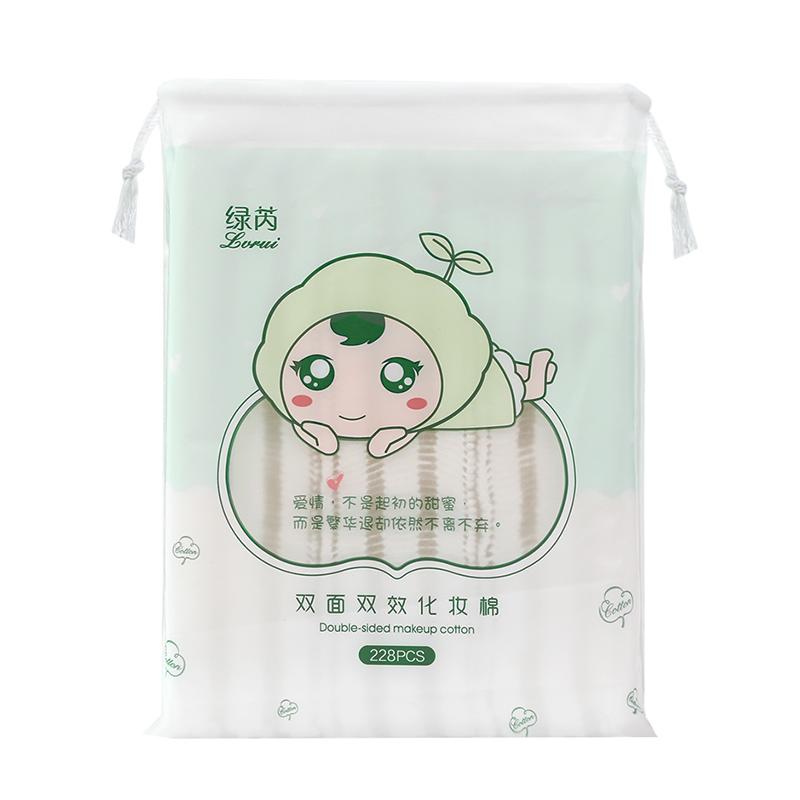 化妆棉卸妆棉卸妆用脸部拍爽肤水专用一次性纯棉厚款卸载巾袋盒装